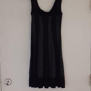Dress Barnadorable little black silky dress sz 6